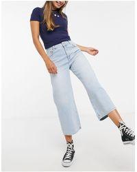 Superdry Phoebe Wide Leg Jeans - Blue