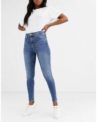 TOPSHOP Jamie Skinny Jeans - Blue