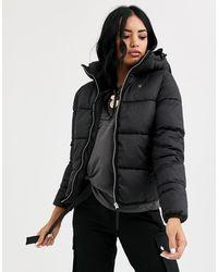 G-Star RAW Padded Jacket With Hood - Black