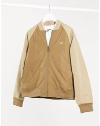 Lacoste Reversible Bomber Jacket-brown