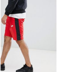 Nike - Woven Logo Shorts In Red 927994-657 - Lyst