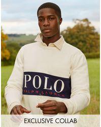 Polo Ralph Lauren X Asos Exclusive Collab jogger - Multicolour