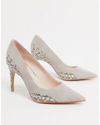 Reiss Mia Pointed Heels - Multicolour