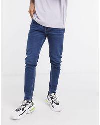 Weekday Cone - Jeans affusolati lavaggio blu Sway