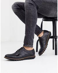 Kickers Kymbo - Chaussures richelieu homme en cuir - Noir