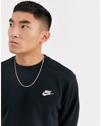 Nike Club Crew Sweatshirt - Black