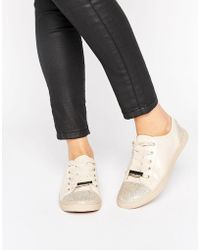 Lipsy - Embellished Trainers - Lyst