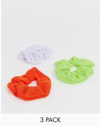 ASOS 3 Резинки Для Волос - Многоцветный
