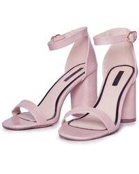 Miss Selfridge - Heeled Sandals - Lyst