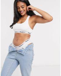 Pepe Jeans Onderbroek Met Logo - Wit