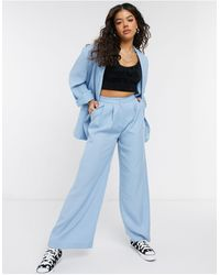 Monki Gaby - pantalon - Bleu