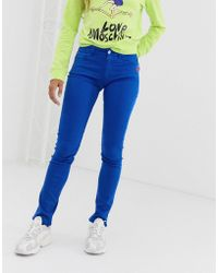 Love Moschino Royal Blue Skinny Jeans