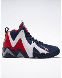 Reebok Classics Kamikaze Ii Hi Top Sneakers - Blue