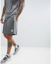 adidas Originals - Plgn Shorts In Gray Cw5111 - Lyst