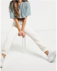 Skinnydip London – Jogginghose - Weiß