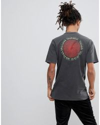 Volcom - T-shirt With Large Back Print - Lyst