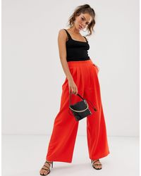 UNIQUE21 Wide Trousers - Orange