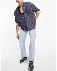 SELECTED Loose Tapered Fit Jeans - Blue