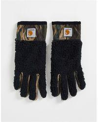 Carhartt WIP Jackson - gants en polaire - camouflage - Noir