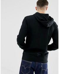 J.Crew Mercantile Lightweight Fleece Hoodie - Black