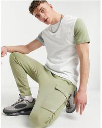 Nike Джоггеры-карго Цвета Хаки С Манжетами -зеленый Цвет