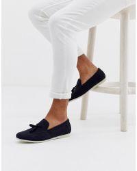 New Look Tassel Loafer In Navy - Blue