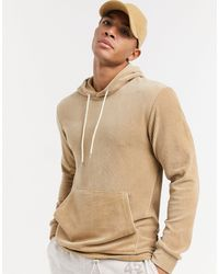 Only & Sons Cord Hoodie - Natural