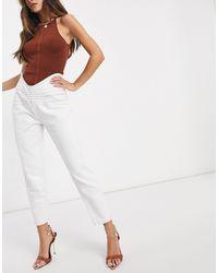 Lioness – Denim-Jeans - Weiß