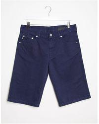 Love Moschino Pantalones chinos cortos Bermuda - Azul