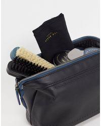 Ted Baker Kit de cuidado para zapatos de - Negro
