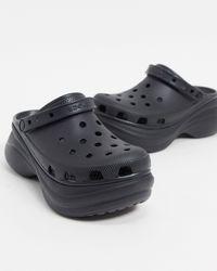 Crocs™ Bae - Schoenen Met Plateauzool - Zwart