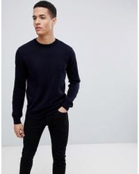 French Connection - Crew Neck Jumper - Lyst