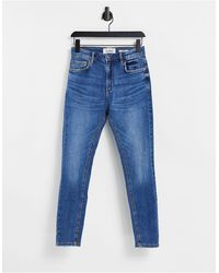 Pull&Bear Carrot Jeans - Blue