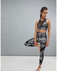 Onzie - Printed Crop Sporty Legging - Lyst