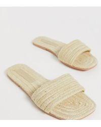 ASOS - Wide Fit Jayme Espadrille Sandals - Lyst