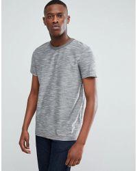 Esprit - T-shirt In Grey Twisted Yarn - Lyst