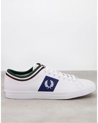 Fred Perry B8185 Underspin - Baskets - Blanc