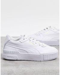 PUMA Cali - Baskets - Blanc