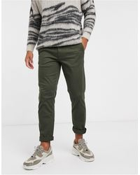 SELECTED Straight Fit Chino - Green