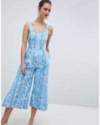 Closet - Culotte Jumpsuit - Lyst