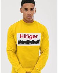 Tommy Hilfiger Свитшот С Логотипом -желтый