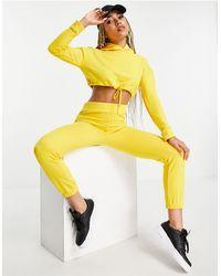 Naanaa sweatpants - Yellow