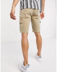 Levi's Pantalones cortos cargo en beis descolorido paratha Youth - Neutro