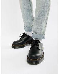 Dr. Martens 1461 Bex - Chaussures plateformes à 3 paires d'oeillets - Noir