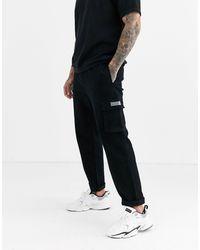 Nicce London Utility Pants - Black
