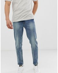 ASOS Tapered Jeans - Blue