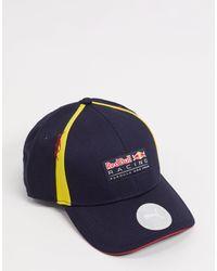 PUMA Черная Бейсболка Red Bull Racing-черный