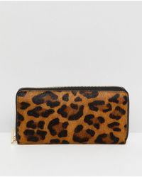Whistles - Cornelia Leopard Wallet - Lyst