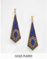 Rock N Rose - Rock N Rose Francia Mosaic Drop Earrings - Lyst