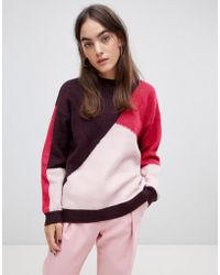 B.Young - Panelled Jumper - Lyst